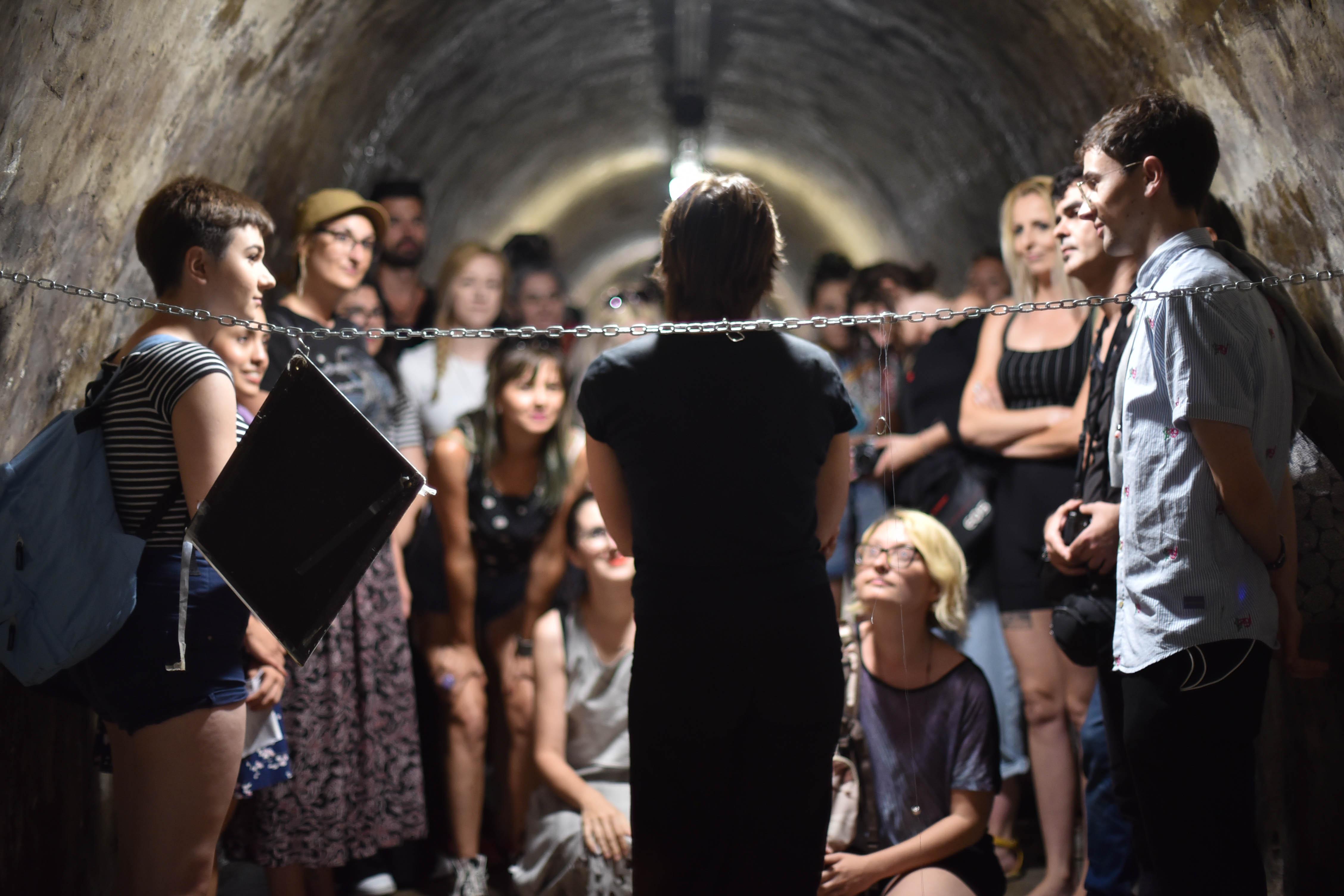 Taller de Performance y Creación Escénica. Colectivo Ameno y María Stoyanova.