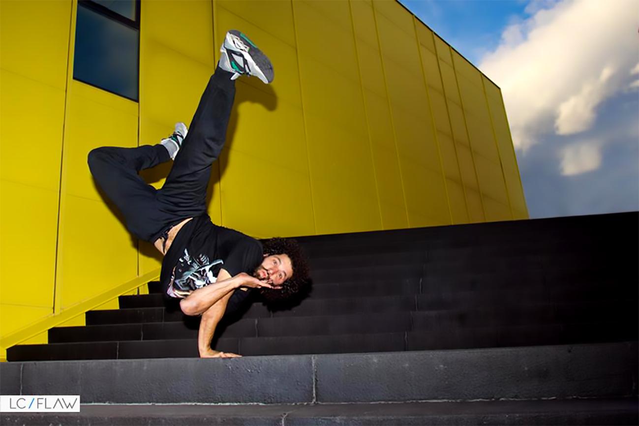 Clases de Breakdance con Manuel Martín Martín